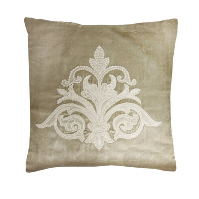 Downton Abbey Throw Pillow Color: Champagne