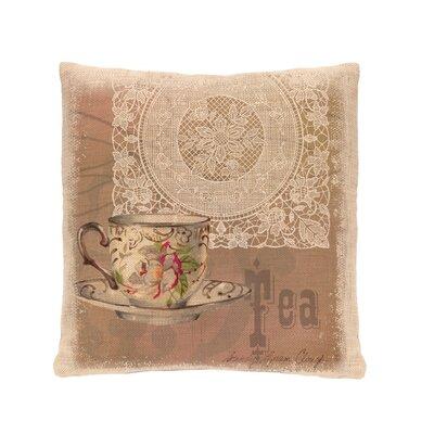 Downton Tea Pillow Cover
