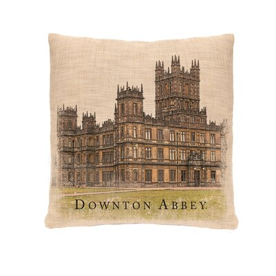 Castle Downton Abbey Throw Pillow