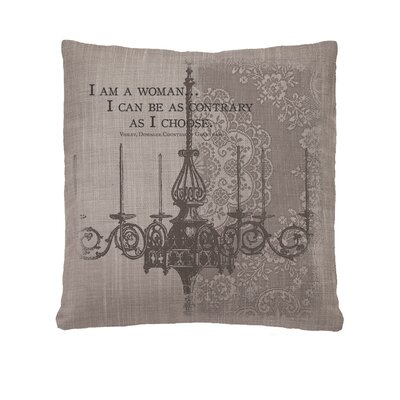 Downton Abbey Im A Woman Throw Pillow