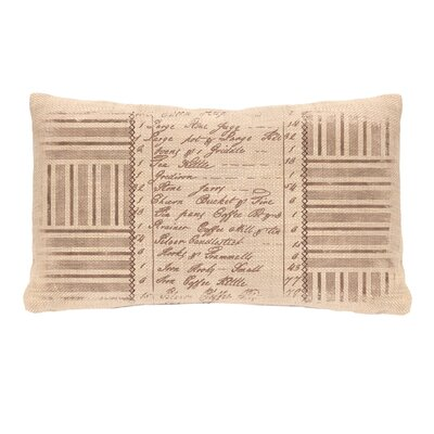 Kitchen Inventory Pillow Cover