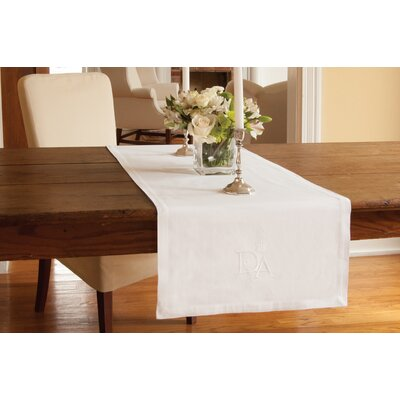 "Downton Abbey Table Runner Size: 54"" W x 18"" L DN-1854W"
