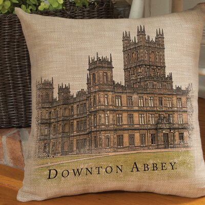 Castle Downton Abbey Pillow Cover