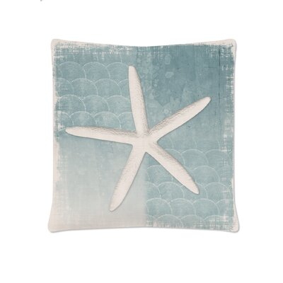 Beachcomber Starfish Throw Pillow