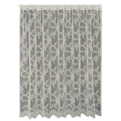 Downton Abbey Yorkshire Shower Curtain Color: Flax