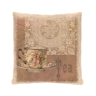 Downton Abbey Cotton Throw Pillow