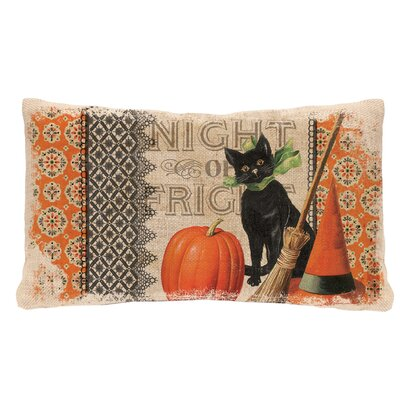 Victorian Halloween Lumbar Pillow