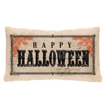 Vintage Halloween Lumbar Pillow