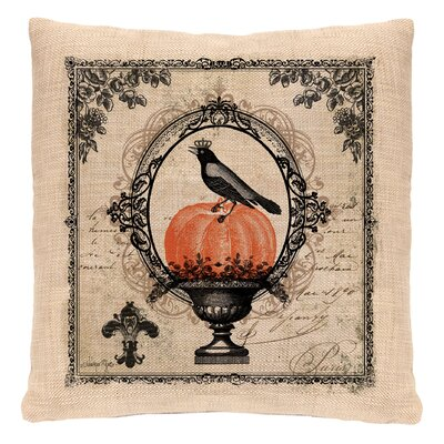 Vintage Halloween Throw Pillow