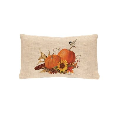 Waddell Pumpkin Lumbar Pillow Cover