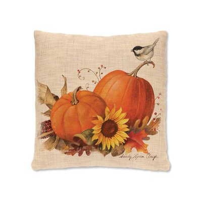 Harvest Pumpkin Pillow Cover