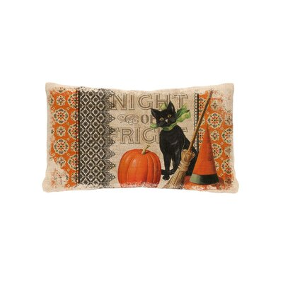 Victorian Halloween Lumbar Pillow Cover