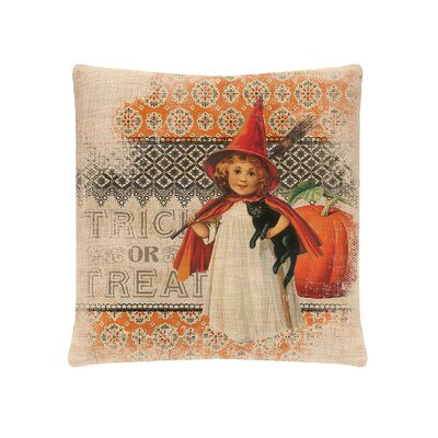 Victorian Halloween Pillow Cover