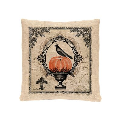 Vintage Halloween Pillow Cover