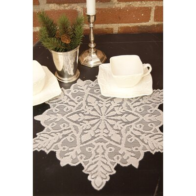 Silver Snowflake Doily (Set of 2) SF-1513S