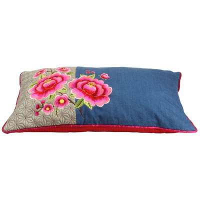 PiP Studio Lumbar Pillow Cover Color: Denim