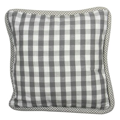 At Home Throw Pillow Cover Color: Livia Gray
