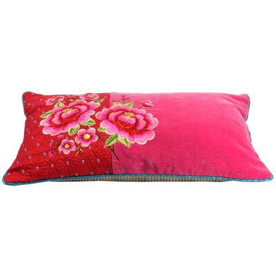 PiP Studio Lumbar Pillow Cover Color: Red