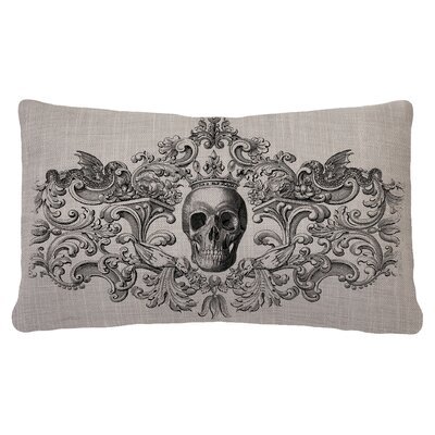 Gothic Pillow Cover Color: Gray