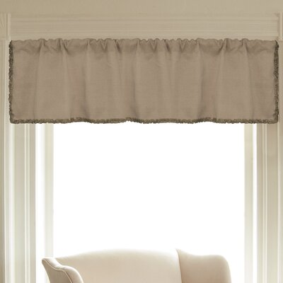 Ruffled Luxury Curtain Valance