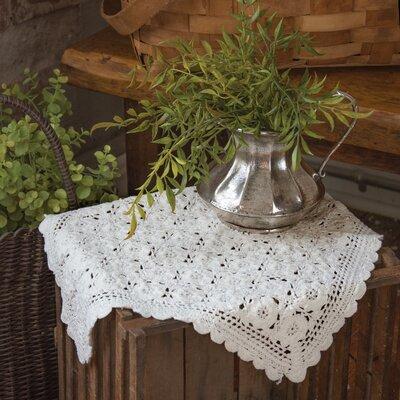 Blue Ribbon Crochet Doily BRC-1414W