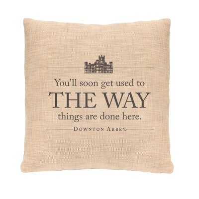 Simply Stated The Way Pillow Cover