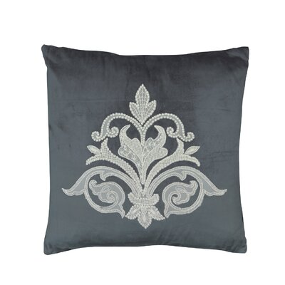Milady Pillow Cover Color: Estate Blue