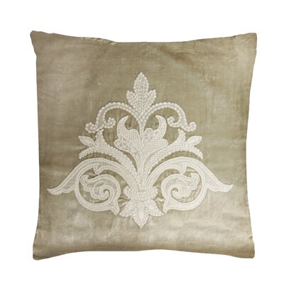 Milady Pillow Cover Color: Champagne