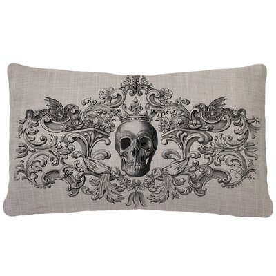Gothic Skull Pillow Cover