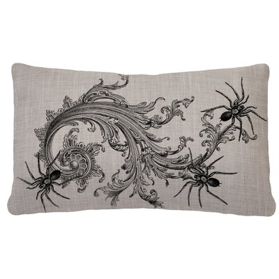 Gothic Spider Pillow Cover