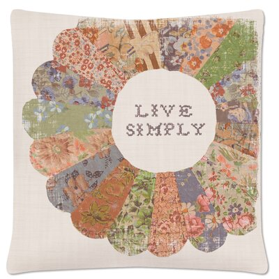 Wisdom Live Simply Pillow Cover