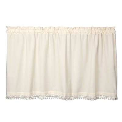 Vintage Pom Pom Tier Curtain
