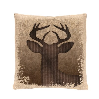 Alpine Woods Deer Pillow Cover