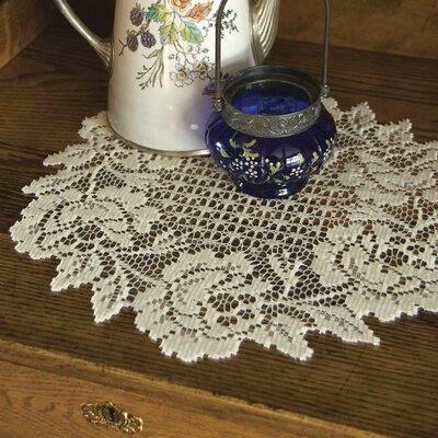Cottage Rose Round Doily CR-1500E