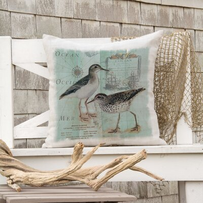 Ionie Coastal Collage Pillow Cover