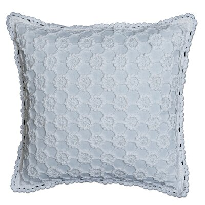 Atonvale Crochet 100% Cotton Throw Pillow Color: White