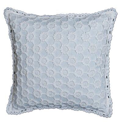 Chadford Crochet Envy Pillow Cover Color: White