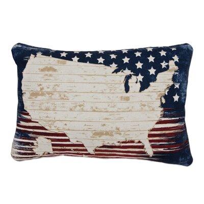 Rockbridge American Spirit Polyester/Polyester Blend Lumbar Pillow