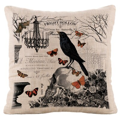 Hawthorne Gardens Throw Pillow