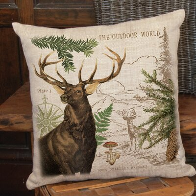 Cosette Elk Throw Pillow