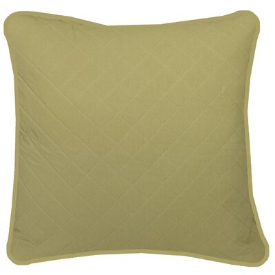 Chad Square Pillow Cover Color: Green
