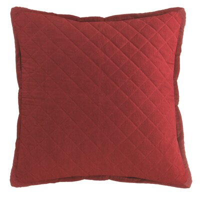 Chad Square Pillow Cover Color: Red