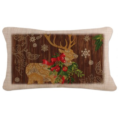 Alpine Lodge Pillow Cover with Zipper