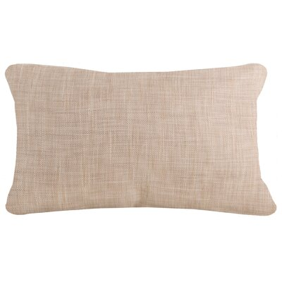 Shamavi Woven Pillow Cover Color: Natural