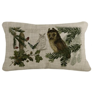 Cosette Owls Lumbar Pillow