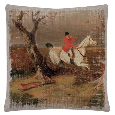 Russiaville Horse Throw Pillow