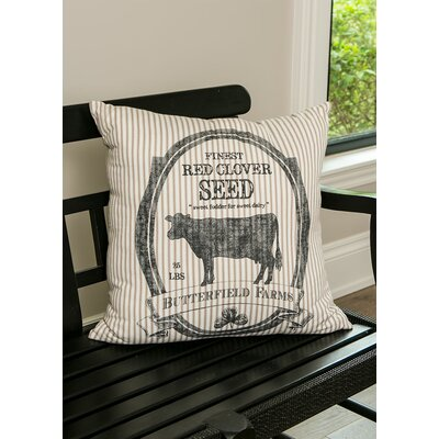 Gideoon Cow Pillow Cover