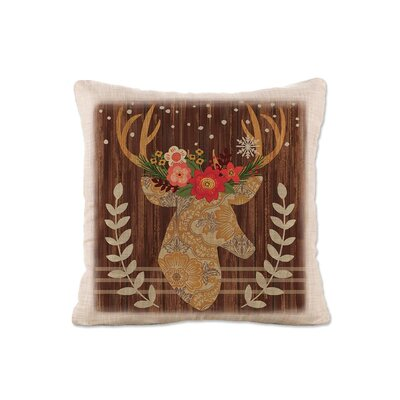 Alpine Lodge Deer Pillow Cover
