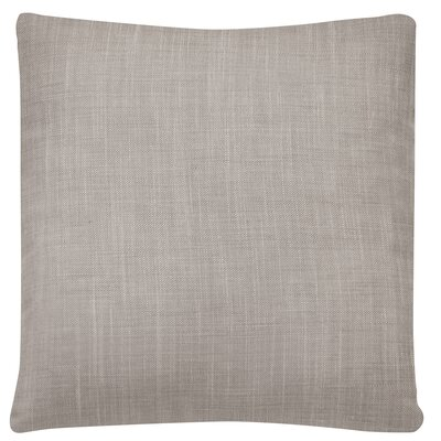 Jemuel Woven Pillow Cover Color: Gray