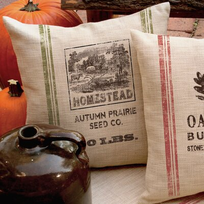 Tobin Homestead Square Pillow Cover